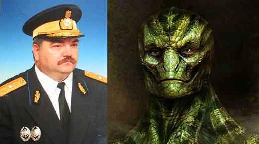 General Rumano Emil Strainu confirma la existencia de los extraterrestres reptilianos