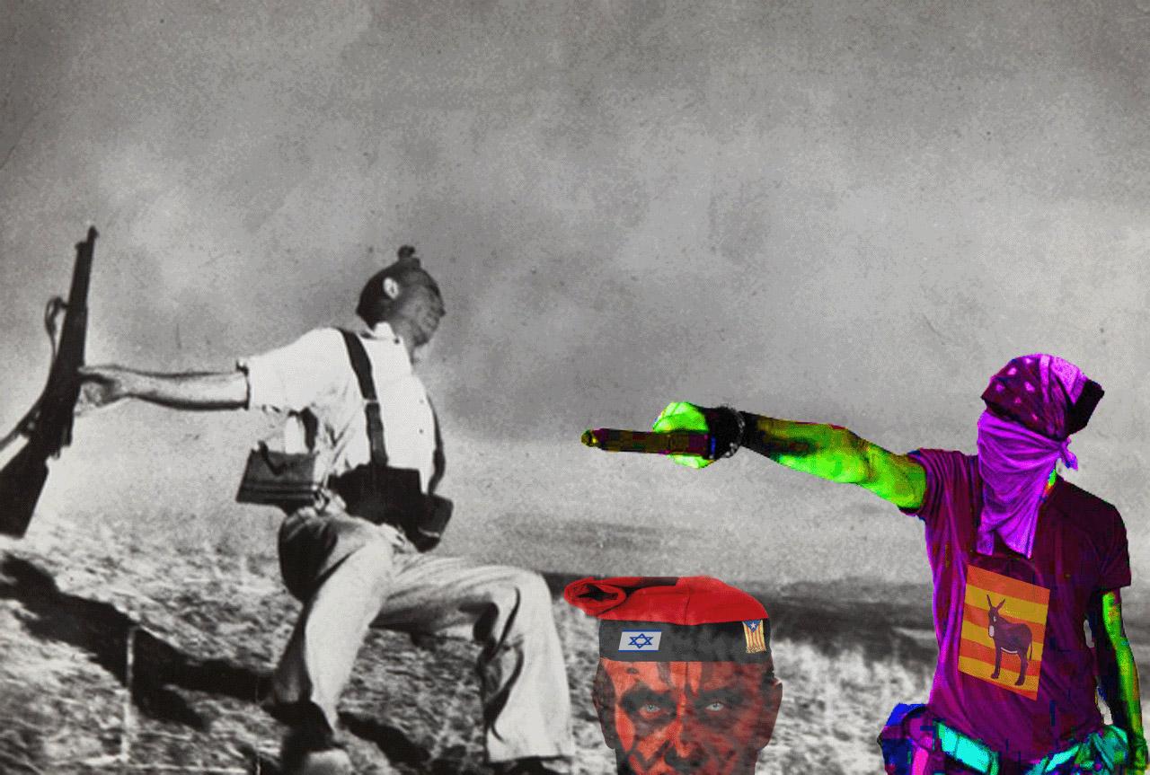 Independencia de Cataluña , Guerra Civil Protocolo-sionista ...