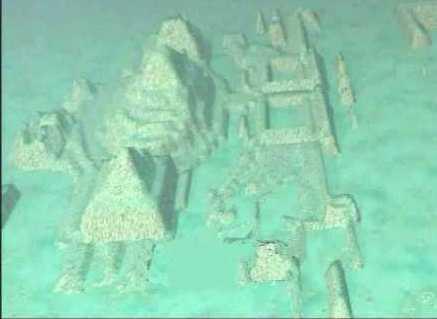 Resultado de imagen de ciudad atlantida encontrada